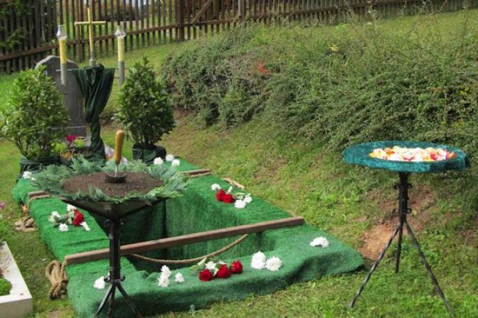 Dekoration für Beerdigung Bestattung  W Zehner